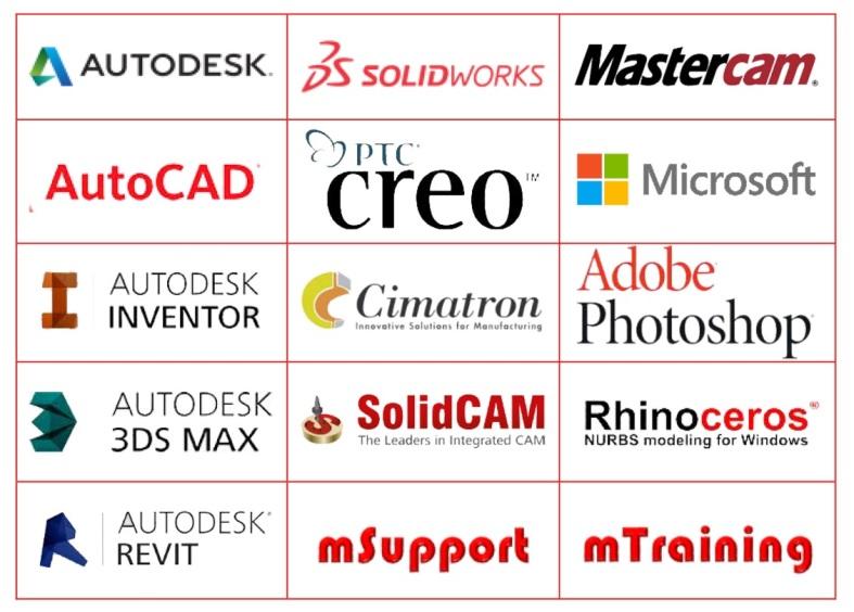 Phần mềm bản quyền SolidWorks, Autodesk Inventor, 3Ds Max, PTC Creo